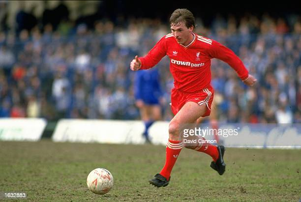 Kenny Dalglish of Liverpool in action during a match against Chelsea at Stamford Bridge in London Liverpool won the match 10 Mandatory Credit David...