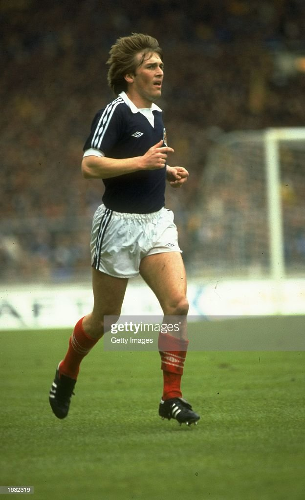 Kenny Dalglish of Scotland in action during a match. \ Mandatory Credit: Allsport UK /Allsport