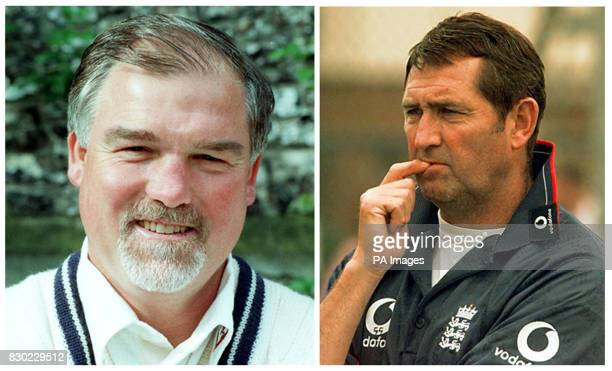 Undated library file pictures of Mike Gatting and Graham Gooch who were today removed from England's selection panel following discussions between...