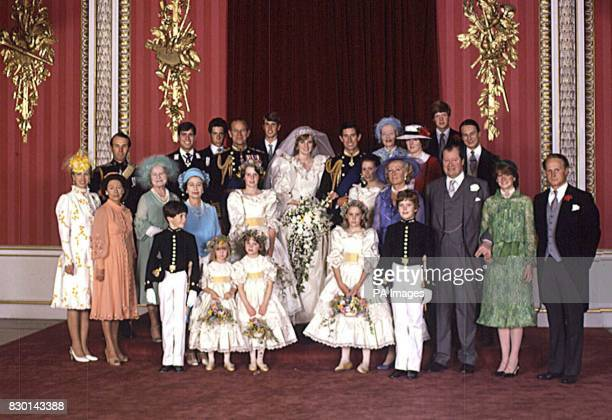 Official Bridal Group Family's The Queen celebrates her Golden wedding anniversary on Thursday The wedding of Prince Charles and Lady Diana Spencer...