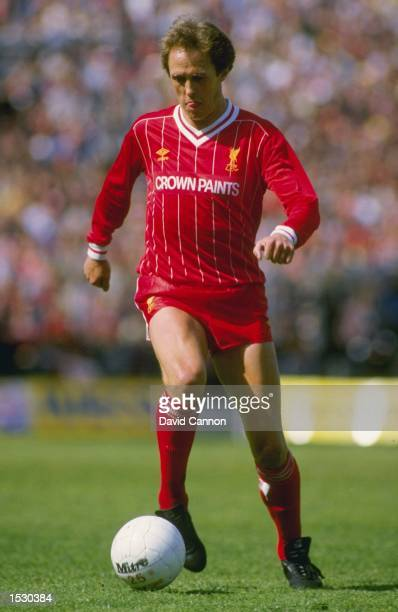 Phil Neal of Liverpool in action Mandatory Credit David Cannon/Allsport