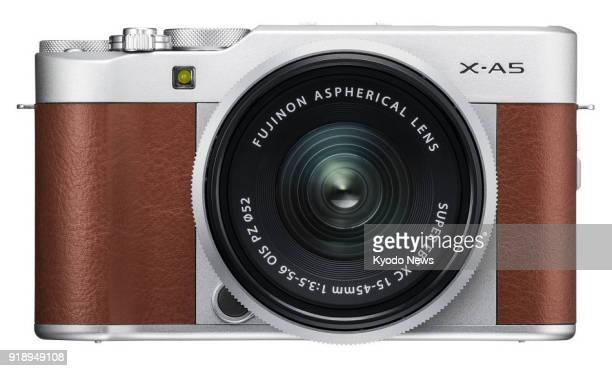 Undated photo shows Fujifilm Corp's mirrorless digital camera 'XA5' ==Kyodo