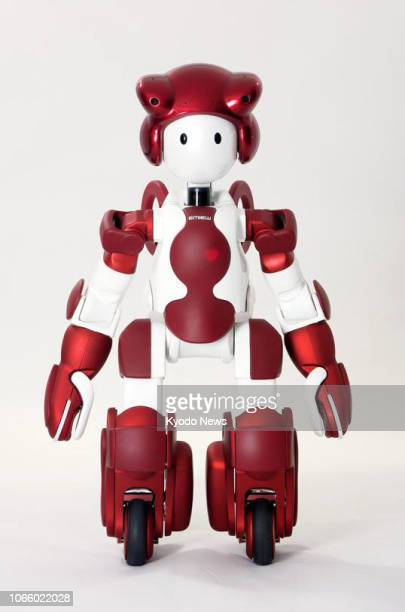 Undated photo shows Hitachi Ltd.'s Emiew 3 humanoid robot that can communicate in Japanese, English and Chinese. Hitachi announced Nov. 28 that the...