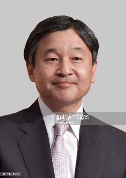Undated photo shows Japanese Crown Prince Naruhito He is set to become Japan's emperor on May 1 2019 ==Kyodo