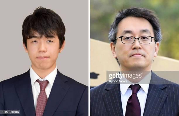 Undated photos show Japanese professional shogi players Sota Fujii and Yoshiharu Habu ==Kyodo