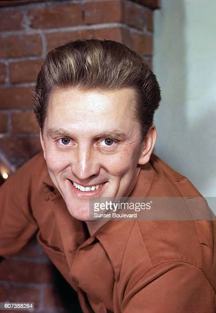 Undated picture of American actor Kirk Douglas.
