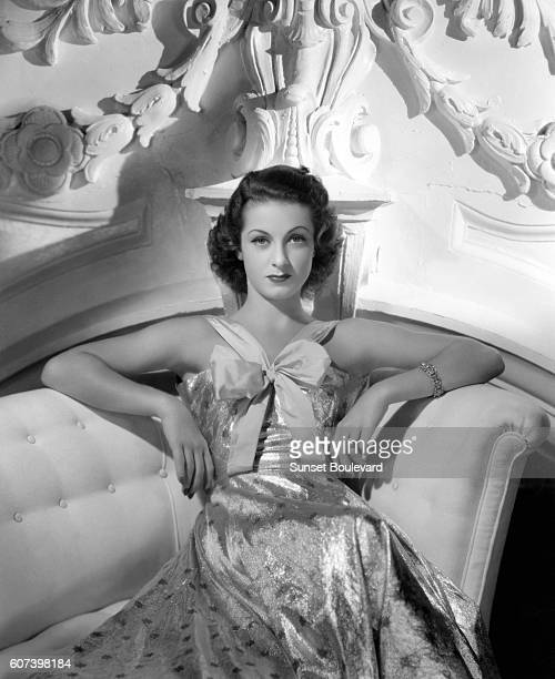 Undated picture of French actress Danielle Darrieux