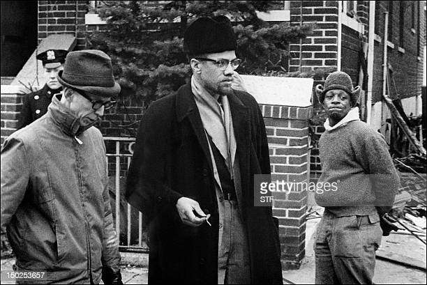 Undated picture of Malcolm X the leader of the Organization for the AfroAmerican unity