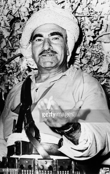 Undated picture shows Kurdish leader Mulla Mustafa Barzani / AFP PHOTO / STF