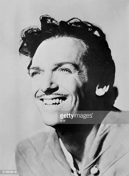 Undated portrait of American film star Douglas Fairbanks Junior, born in 1909, who starred in such films as 'The prisoner of Zenda', and became a...