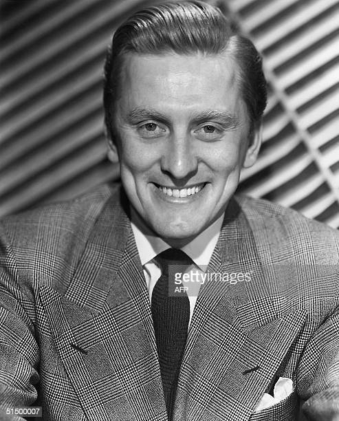 Undated portrait of film actor Kirk Douglas Douglas born in Amsterdam Netherlands made his Broadway debut in 1941 served in the US Navy and embarked...