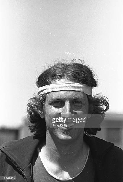 Portrait of High Jumper Dick Fosbury of the USA Mandatory Credit Tony Duffy/Allsport