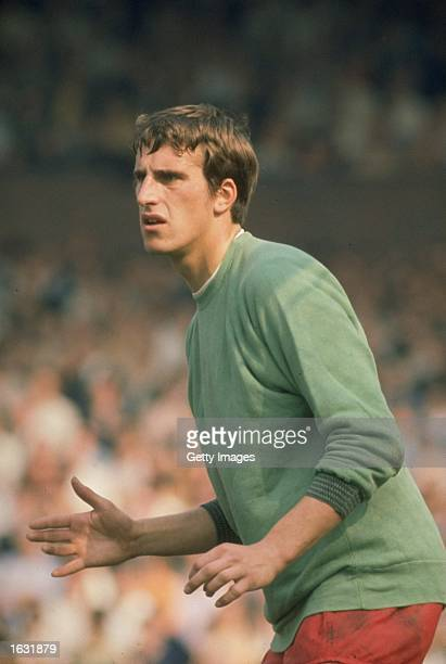Portrait of Liverpool Goalkeeper Ray Clemence during a match Mandatory Credit Allsport UK /Allsport