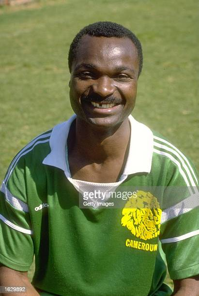 Portrait of Roger Milla of Cameroon before an African Nations Cup match Mandatory Credit Allsport UK /Allsport