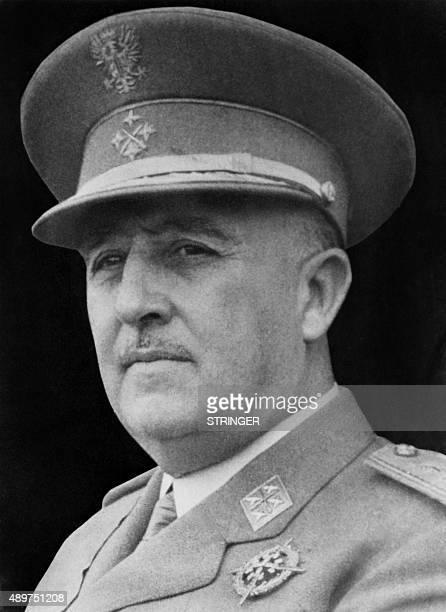 Undated portrait of Spanish General Francisco Franco