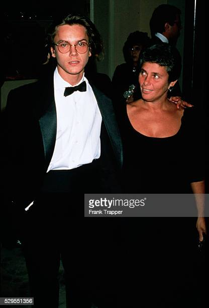 River Phoenix with his mother Arlyn