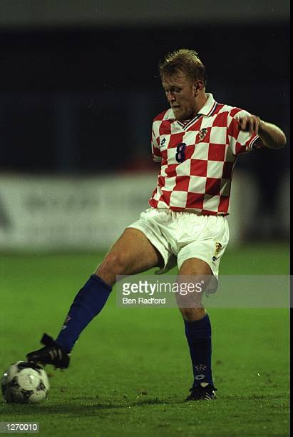 Robert Prosinecki of Croatia in action during a match. \ Mandatory Credit: Ben Radford/Allsport