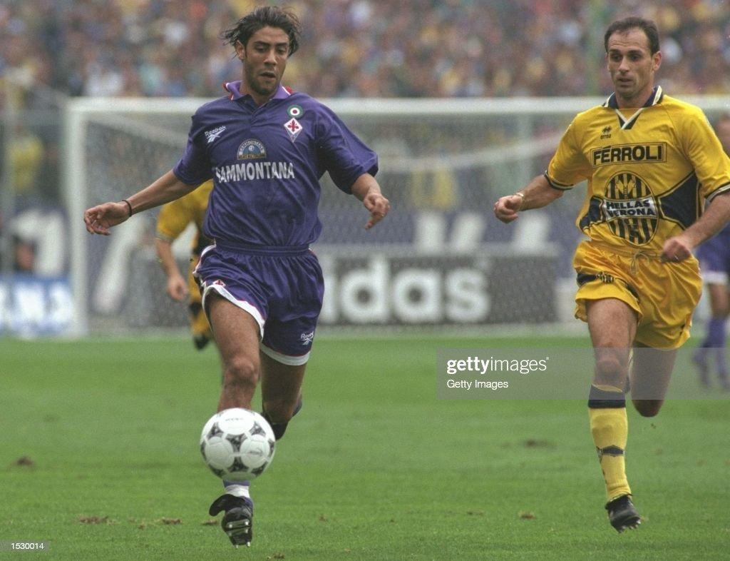 Rui Costa of Fiorentina in action : News Photo