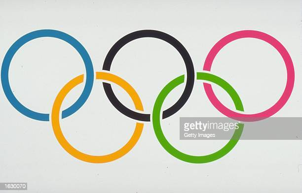 The Official Rings Logo of the Olympic Games for editorial use only International Olympic Committee via Getty Images