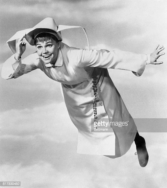 This is how Sally Field looked when she starred as The Flying Nun in that television series The photo was placed in file in 1967 Sally won an Emmy in...