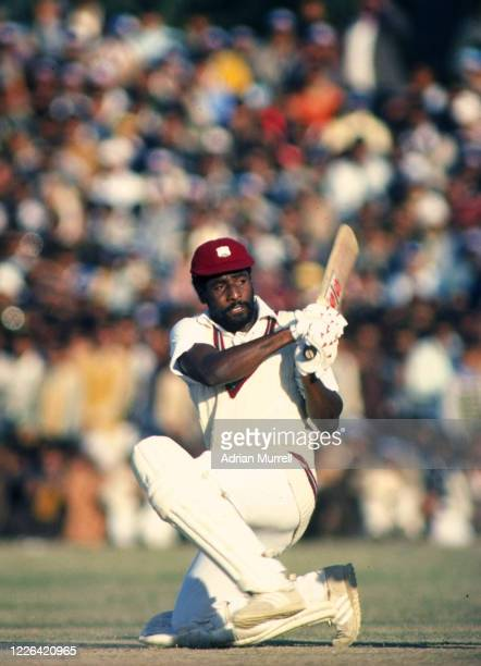 Viv Richards of the West Indies in action. Mandatory Credit: Adrian Murrell/Allsport UK
