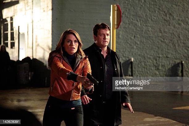 CASTLE 'Undead Again' When Castle and Beckett investigate the murder of a man with human bite marks on his body Castle's wild theories start flying...