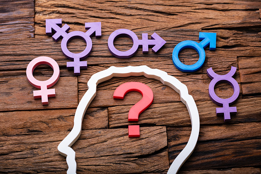 Undecided Gender Choice Concept 1182212179