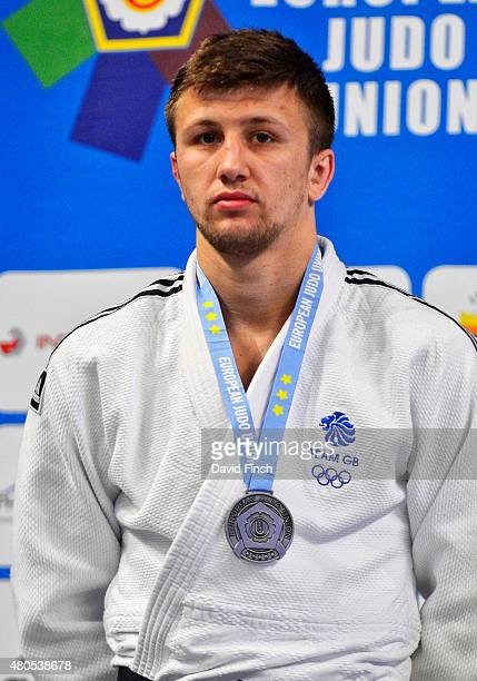 Under 100kg silver medallist Frazer Chamberlain of Great Britain during the 2015 London European Cup at Wembley Arena London England United Kingdom