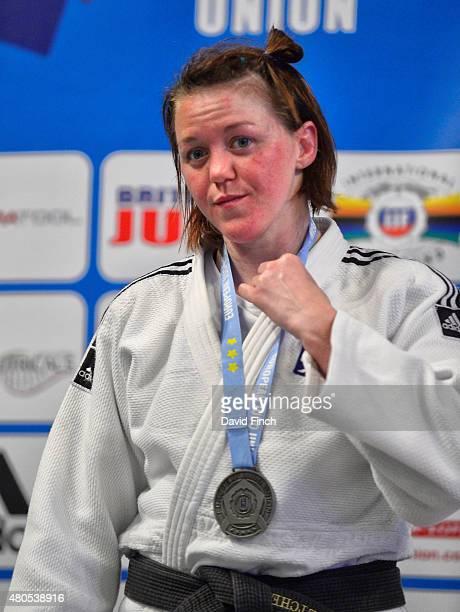 Under 70kg silver medallist Megan Fletcher of Great Britain during the 2015 London European Cup at Wembley Arena London England United Kingdom
