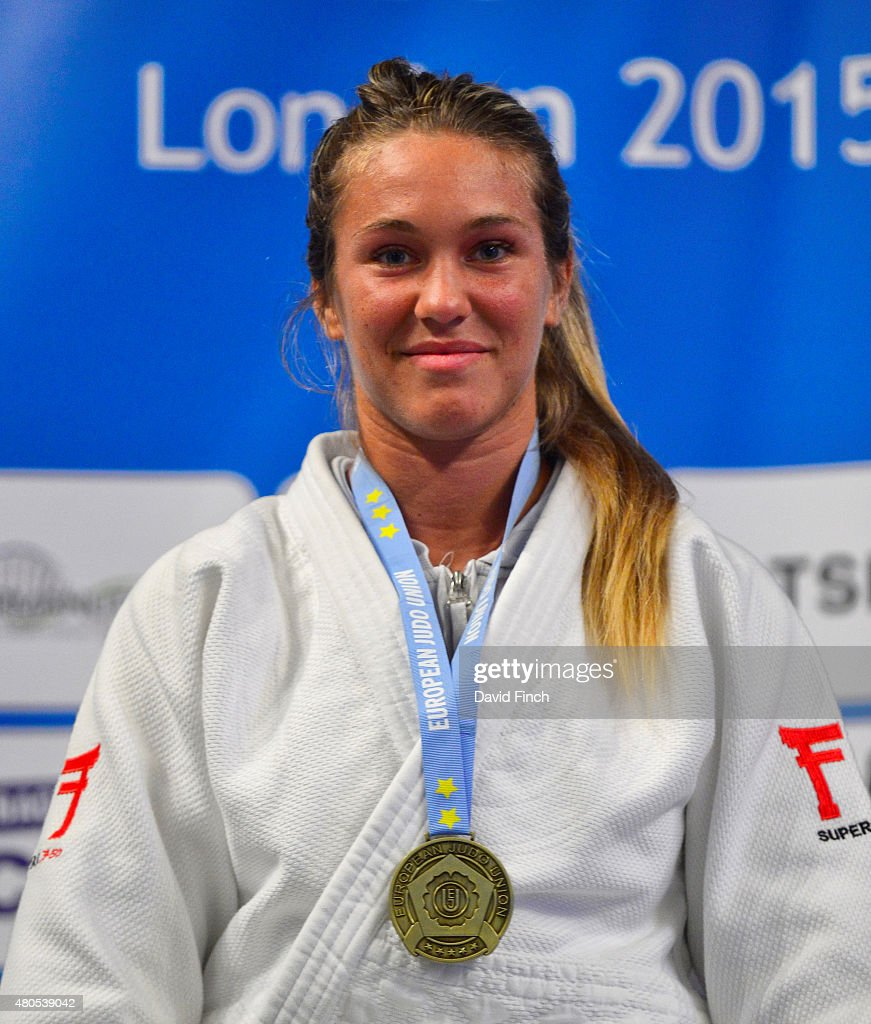 Under 78kg gold medallist, Melora Rosetta of Italy during the 2015 London European Cup (11-12 July) at Wembley Arena, London, England, United Kingdom.