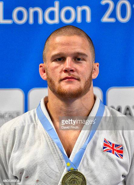 Under 81kg gold medallist Owen Livesey of Great Britain during the 2015 London European Cup at Wembley Arena London England United Kingdom