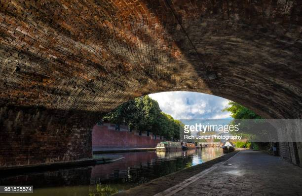 Under a Bridge on the Birmingham Canal Old Line