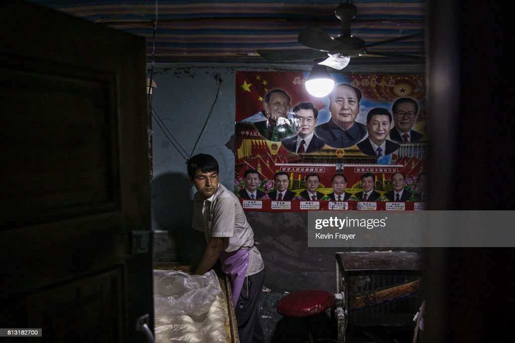 Uyghur Life Endures in Kashgar's Old City : Foto jornalística