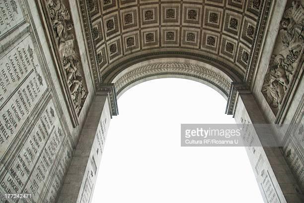 Under Arc de Triomphe, Paris, France