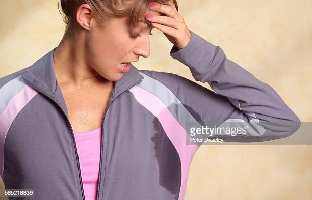 Under arm damp patch