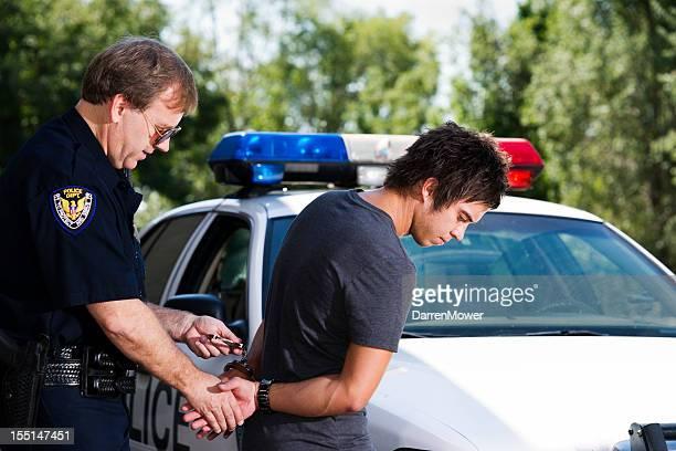 bajo detención - detenido fotografías e imágenes de stock