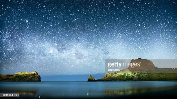 Unter Milchstraße Sternen
