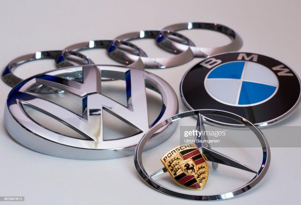 Under Observation Of The Cartel Authorities Logos AUDI - Audi bmw benz