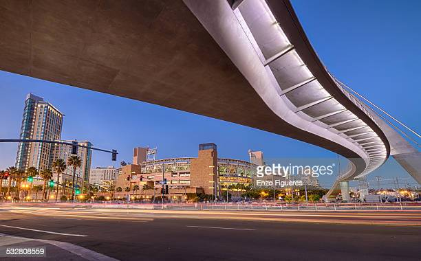 Under pedestrian Bridge
