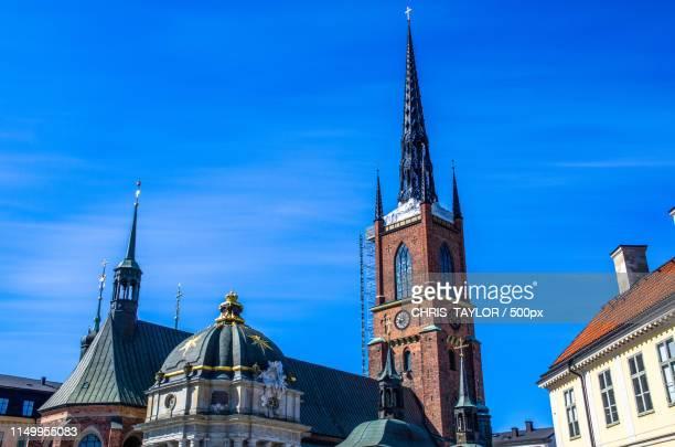 under repair - riddarholmkirche stock-fotos und bilder
