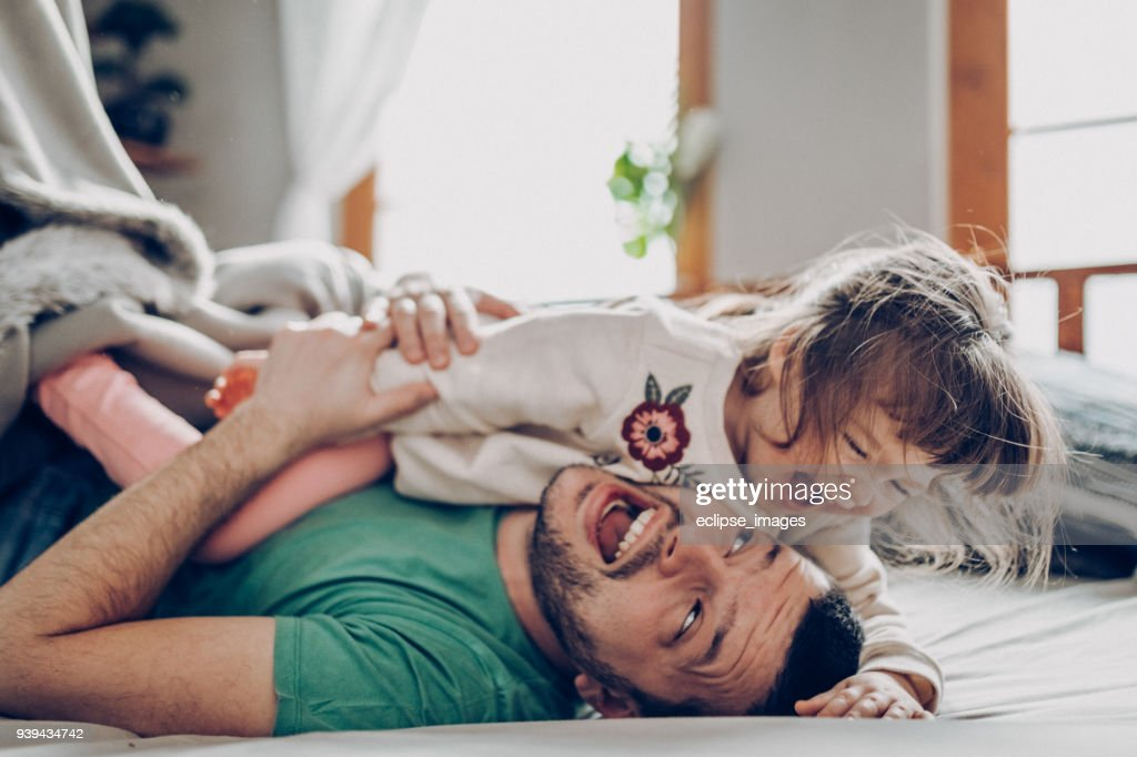 Under the blanket : Stock Photo