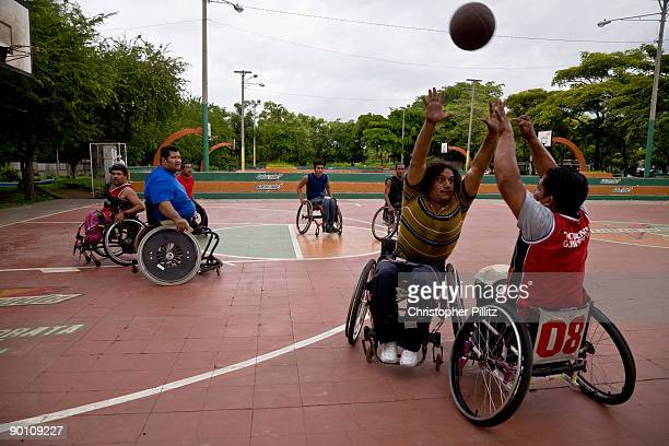 Under the direction of Tomas Alvarado a former Sandinist fighter several basketball teams have been created in Managua to give support to former...