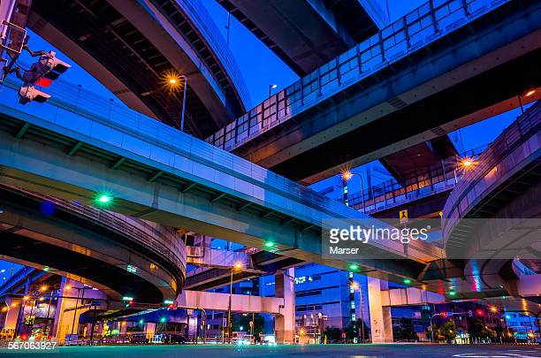 Under the elevated highways