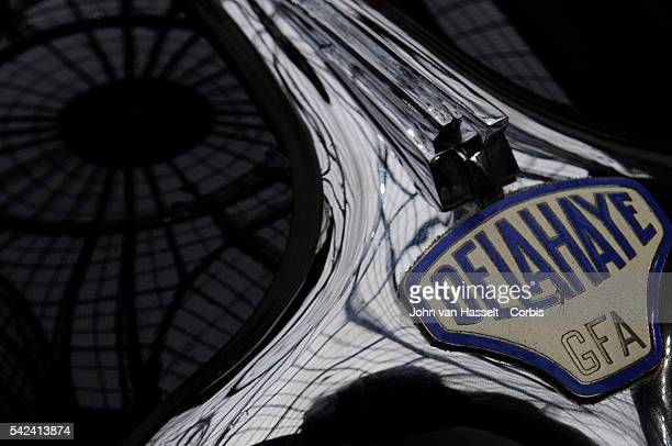 Under the glass dome of the Grand Palais in Paris the auction house Bonhams celebrated the 110th anniversary of the first automobile exhibition by...