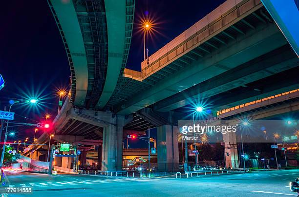 under the junction in Osaka
