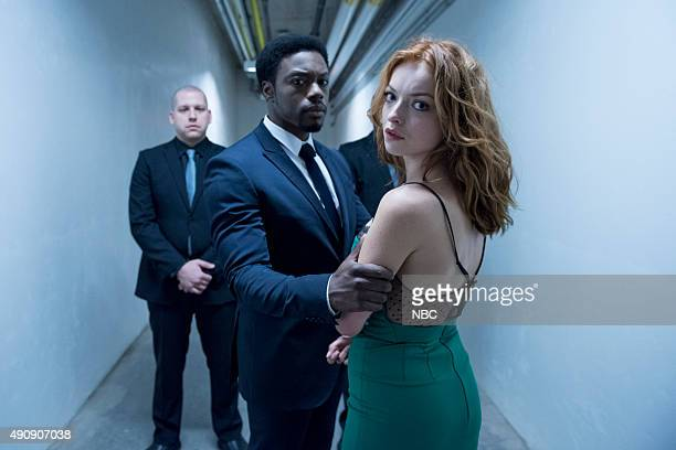 REBORN Under the Mask Episode 103 Pictured Cle Bennett as Harris Clone Francesca Eastwood as Molly Walker