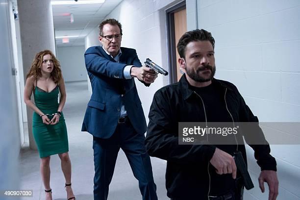 REBORN Under the Mask Episode 103 Pictured Francesca Eastwood as Molly Walker Jack Coleman as Noah Bennett/HRG Brendan Murray as guard