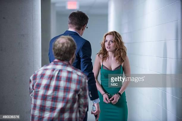 REBORN Under the Mask Episode 103 Pictured Jack Coleman as HRG Francesca Eastwood as Molly