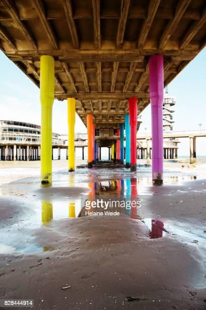 Under the Pier of Scheveningen
