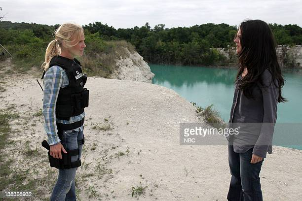 CHASE Under the Radar Episode 102 Pictured Kelli Giddish as Annie Frost Yara Martinez as Karen Nelson